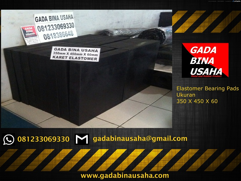 elastomer bearing pad 350 X 450 X 60
