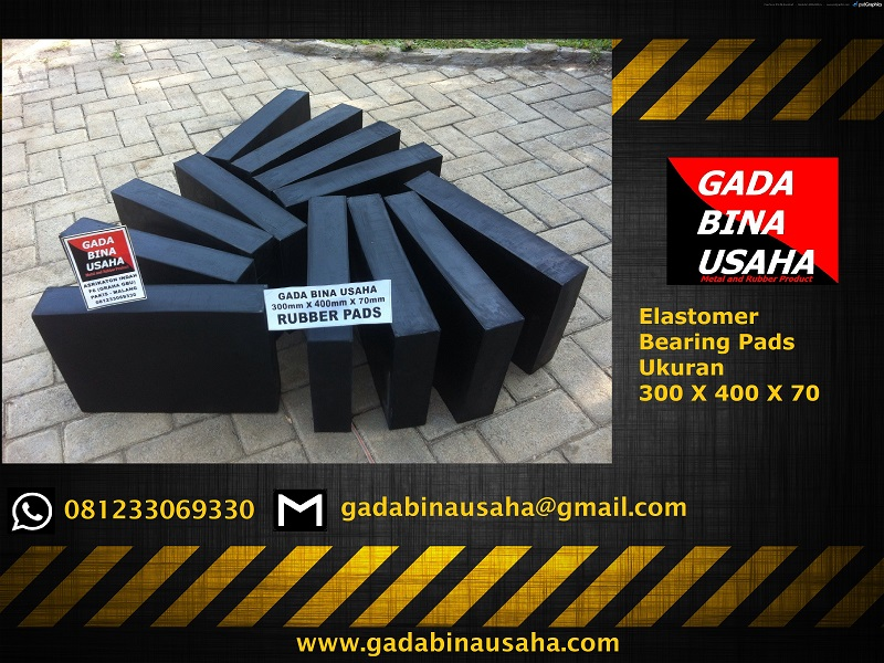 elastomer bearing pad 300x400x70