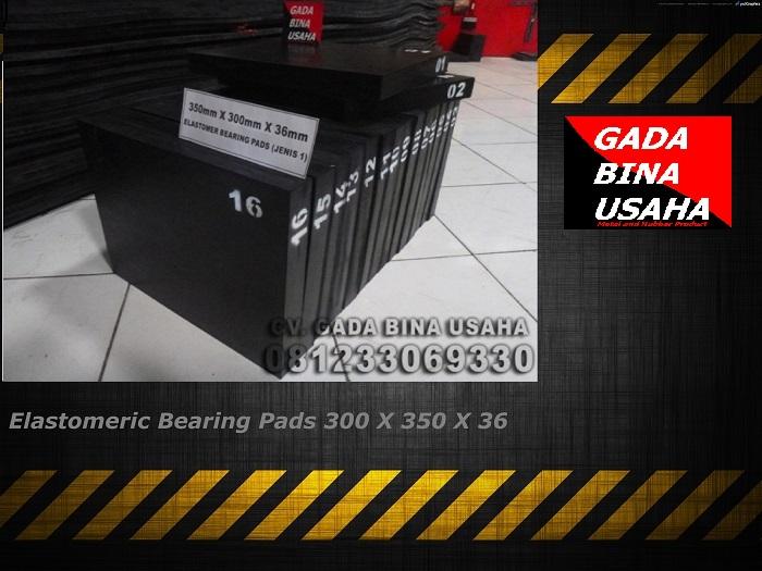 Elastomeric Bearing Pads 300 X 350 X 36