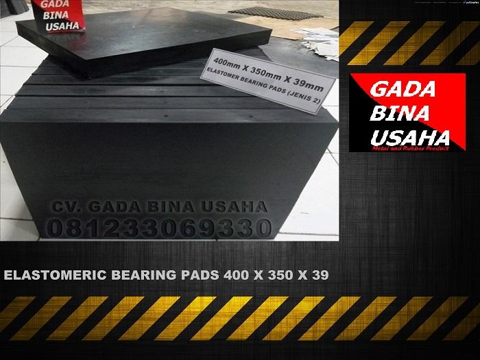Elastomeric Bearing Pads 400 X 350 X 39