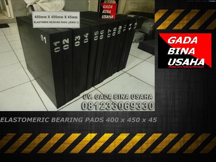 Elastomeric Bearing Pads 450 X 400 X 45