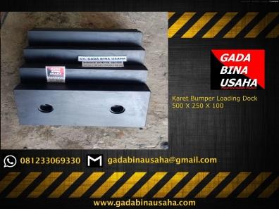 Karet Bumper Loading Dock 500 X 250 X X 100